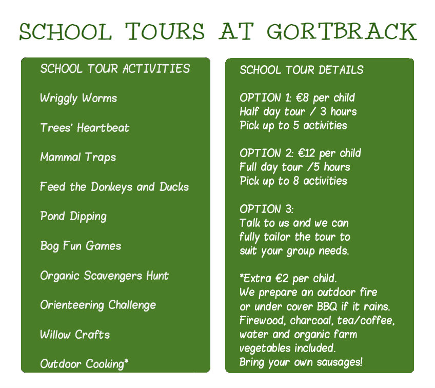 School tours image