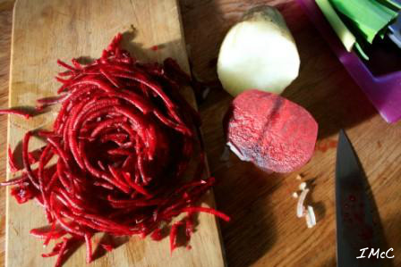 beetroot and yacon